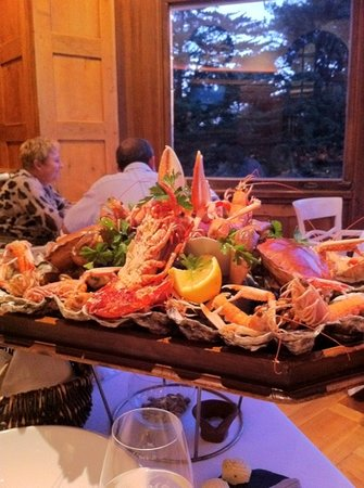 Le Restaurant de Coquillage : plateau de fruits de mer