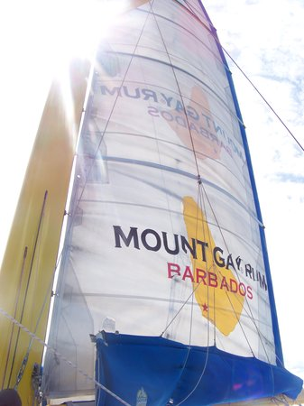 Barbados Sailing : the beautiful ship