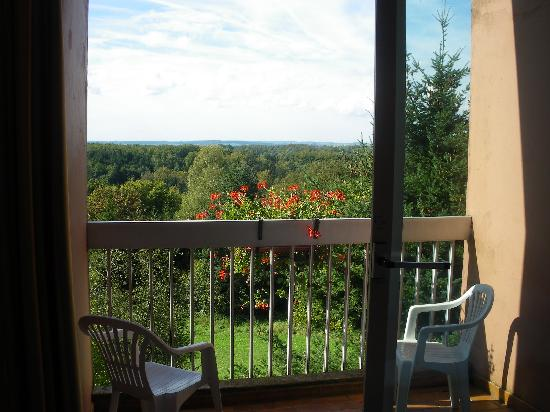 Hotel Notre-Dame de Bonne Fontaine : Bedroom balcony