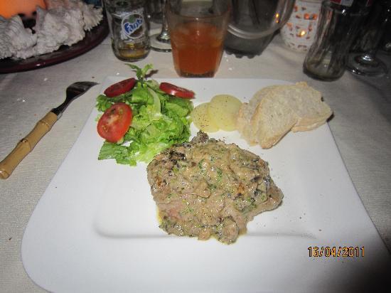 Villa Italia : filetto al tartufo e porcini