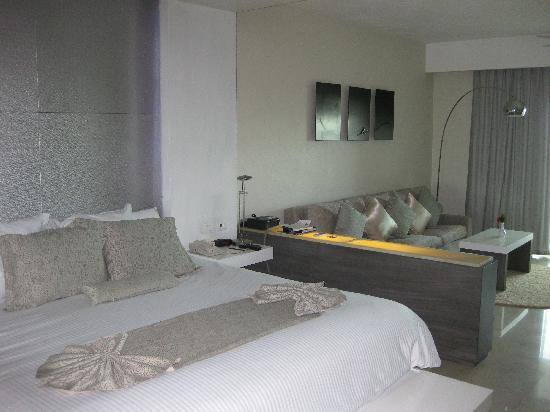 Secrets Silversands Riviera Cancun: Our room!