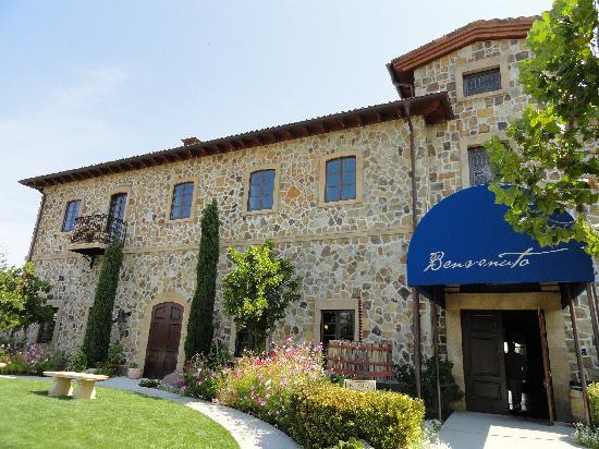 Jacuzzi Family Vineyards: frontdoor