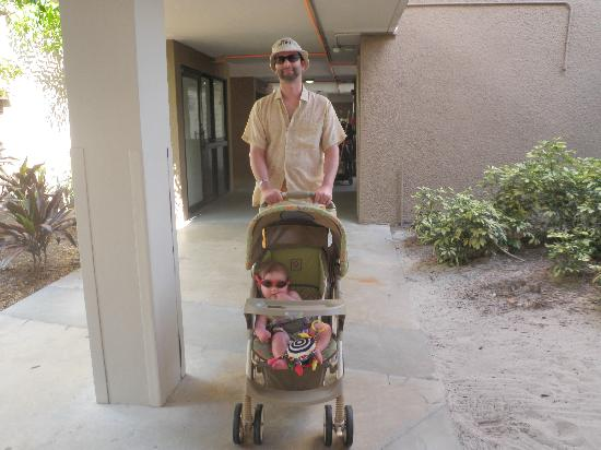 Club Med Sandpiper Bay: The stroller that came with the room
