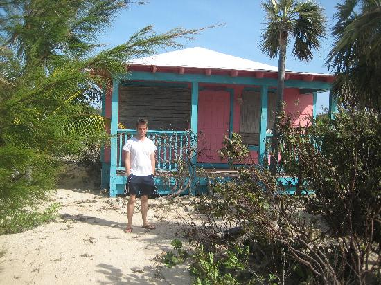 The Bahamian Village: Cottage and resident