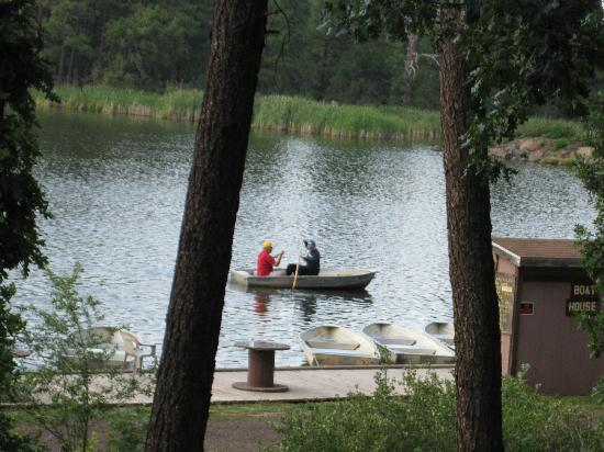 Fishing on the lake picture of lake of the woods resort for Lake of the woods fishing resorts