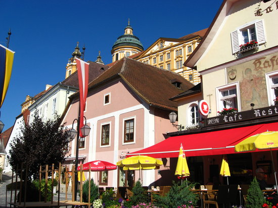 The village of Melk