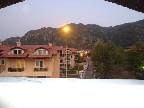 Ince Apartments: View from front balcony