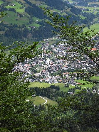 Hotel Sonnalp: Kirchberg from a mountain