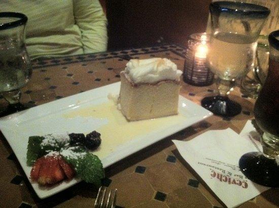 Ceviche Tapas Bar and Restaurant: Tres Leches!!!  so good...