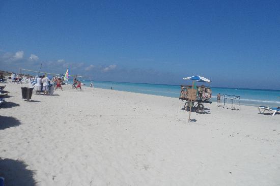 Melia Las Antillas: Playa del hotel