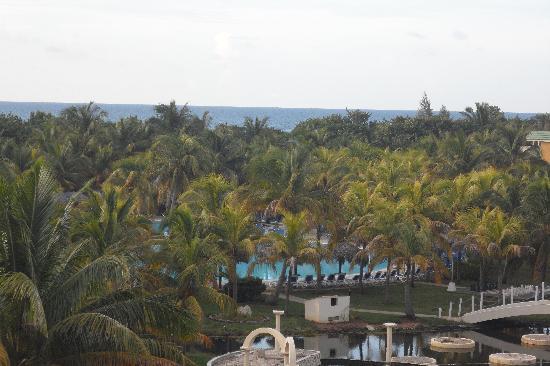 Melia Las Antillas: Vista desde la habitacion del 4to piso