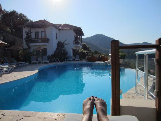 Terrasses de Selimiye Butik Hotel: swimming pool