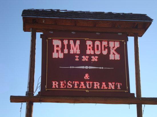 The Rim Rock Restaurant: Ankunft