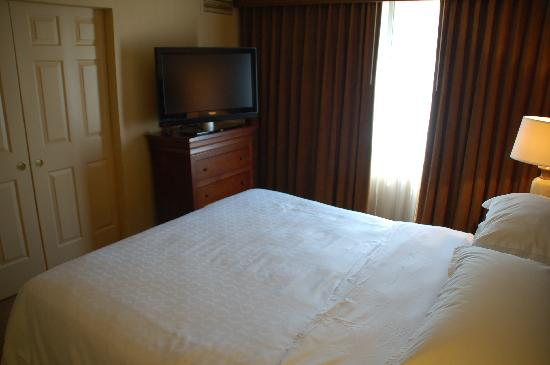 Sheraton Fairplex Hotel & Conference Center : A restful sleep is yours in this room