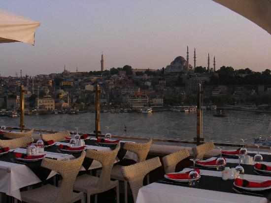 Istanbul Golden City Hotel: View from Rooftop