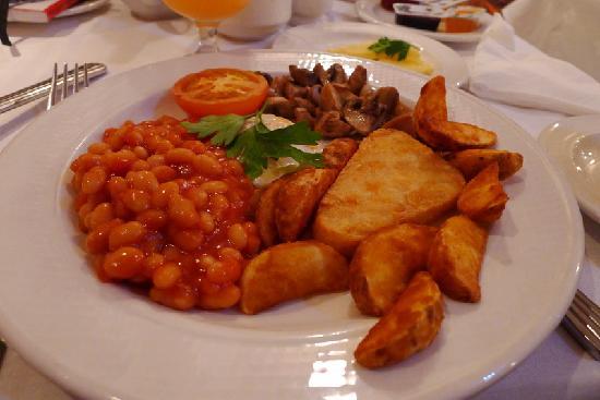 Westwood House Hotel: Vegetarian Irish Breakfast