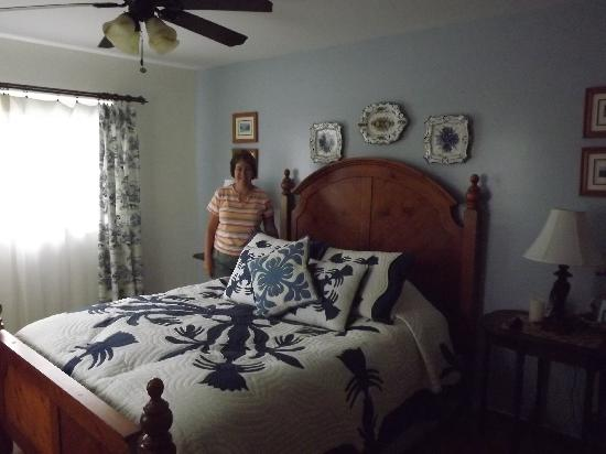 Ohia Plantation House: bedroom 1