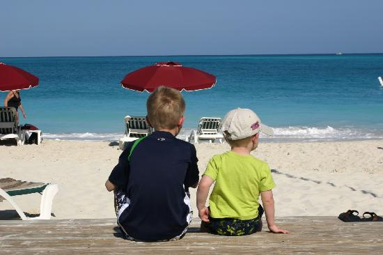 Royal West Indies Resort: Boys at the beach.