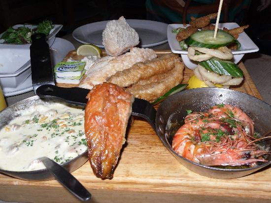 The Ship Inn: Fish Platter