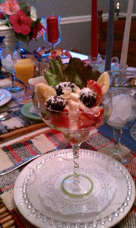 Magnolia Glen Bed and Breakfast: Another Delicious MorningTreat