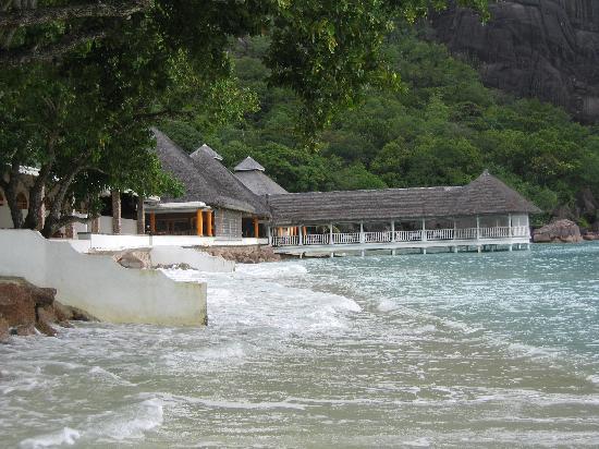 Le Domaine de La Reserve: ristorante sul mare