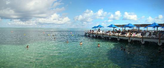 Decameron Aquarium: Piscina Natural - Muelle