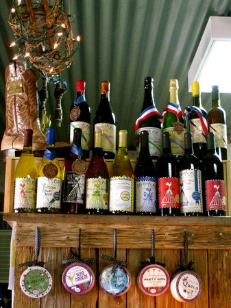 Dry Comal Creek Vineyards: so many amazing choices...