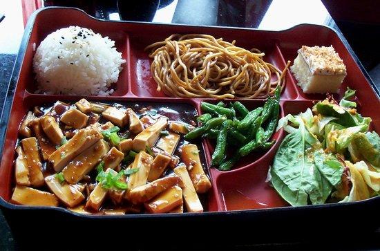 Szechuan Tofu Bento Box Picture Of Bento Asian Kitchen