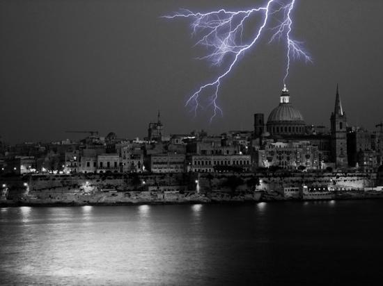 Valletta, Malta: just in time