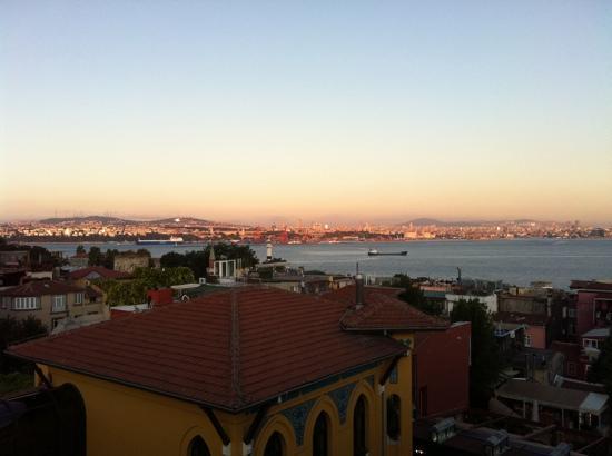 Turk Art Hotel: il panorama che si vede quando si fa colazione
