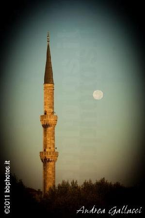 Turk Art Hotel: la moschea blu vista dal Muhlis Bey