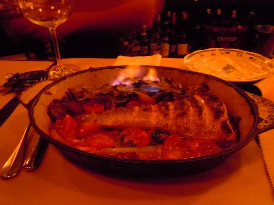 Tzfon Abraxas: Flaming fish