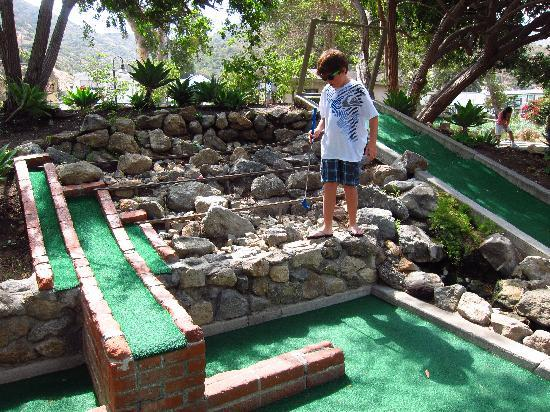 Beautiful landscaping picture of golf gardens miniature golf avalon tripadvisor for Garden city mini golf