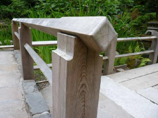 Portland Japanese Garden: Fence Detail