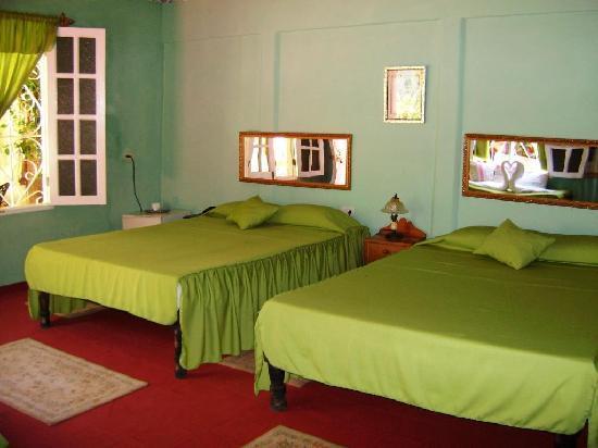 Casa OsmaryAlberto: Habitacion Verde