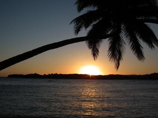 Shangri-La's Fijian Resort & Spa : Sunset