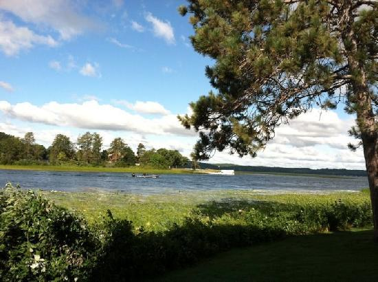 Madden's on Gull Lake: The view from our room in the Voyager.