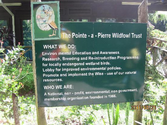 Wildfowl Trust Trinidad
