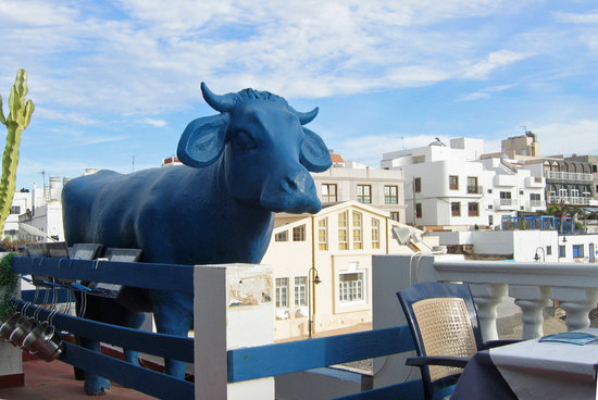 LA VACA AZUL: La Vaca...la fameuse !