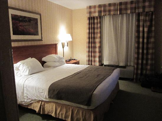 Holiday Inn Express Hotel & Suites - Coeur D'Alene: Bedroom Area