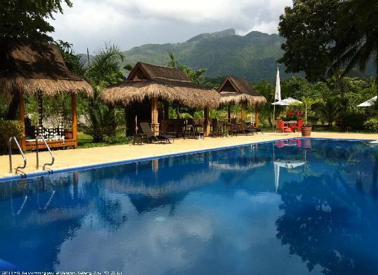 Daluyon Beach and Mountain Resort: View from the pool