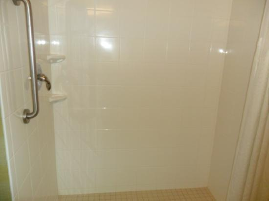 Holiday Inn Express Hotel & Suites Reno: the shower