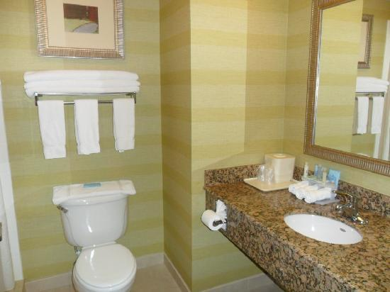 Holiday Inn Express Hotel & Suites Reno: the bathroom