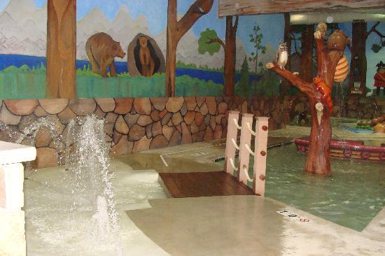 Woodloch Pines Resort: Indoor Kiddie Pool - best I've ever seen!