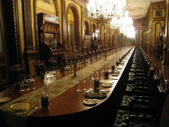 Taj Falaknuma Palace: Private dining room
