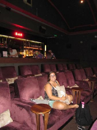 Everyman Cinemas Screen on the Green : My 16yr old grandaughter loved this place!