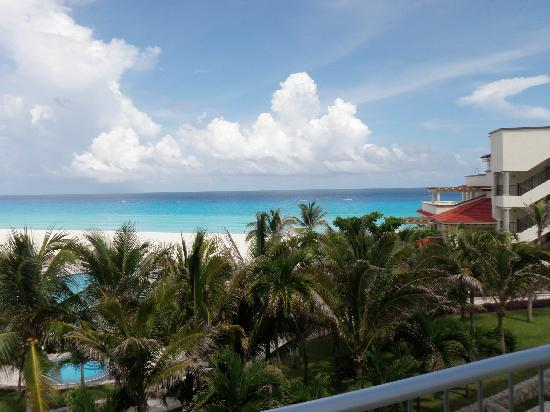 Grand Park Royal Luxury Resort Cancún: View from our room!