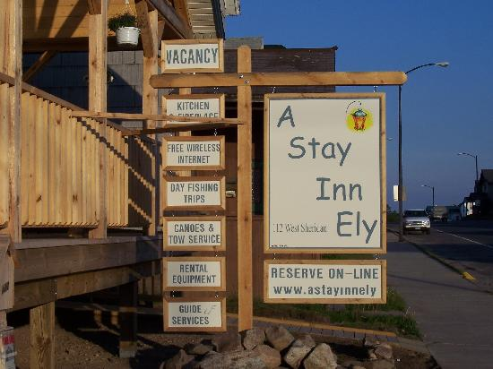 A Stay Inn Ely: Welcome!
