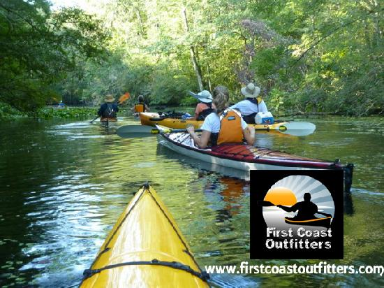 First Coast Outfitters Kayak Tours: The Jacksonville Kayaking Meetup Group