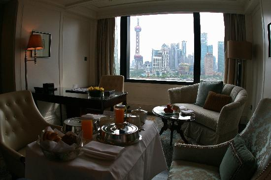 วอลดอร์ฟ แอสทอเรีย เซี่ยงไฮ้ ออน เดอะ บันด์: King Luxury River Suite View